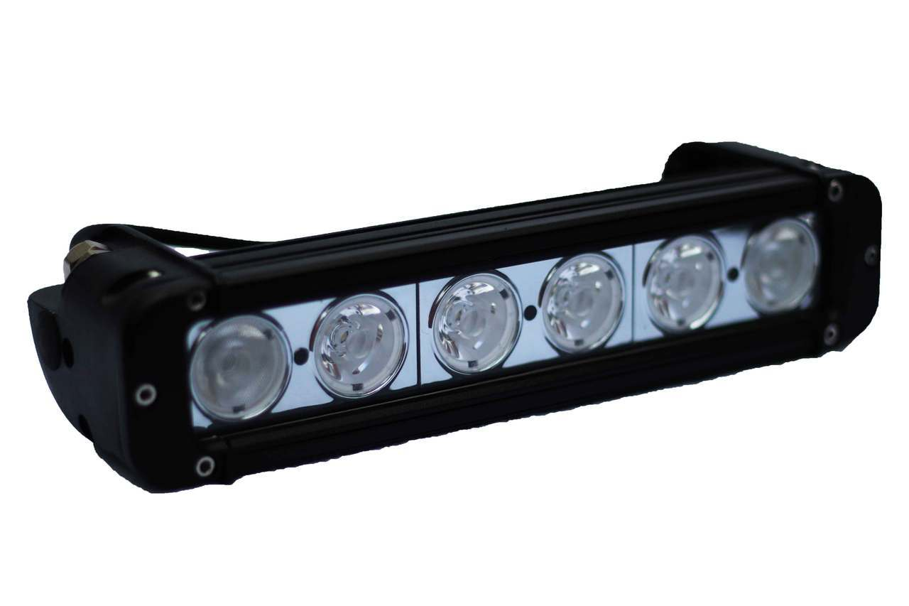 11 Quot 11 Inch Led Light Bar 6 10 Watt Cree Led Bulbs